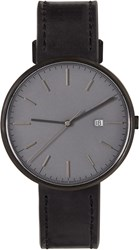 Uniform Wares Gunmetal And Black M40 Watch