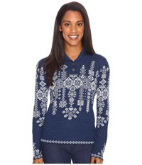 Obermeyer Cabin Knit Pullover Storm Cloud Women's Sweater Olive