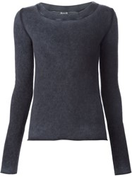 Kristensen Du Nord Dyed Sweater Blue