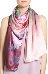 Ted Baker Women's London 'Pure Peony' Print Silk Scarf