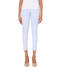 French Connection Lilly Skinny Mid Rise Jeans Crystal Clear