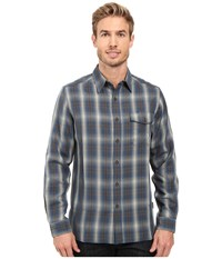 Royal Robbins Pinecrest Plaid Long Sleeve Shirt Phoenix Blue Men's Clothing