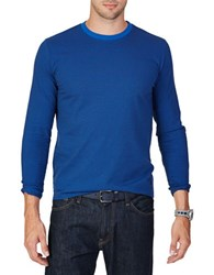 Nautica Classic Fit Long Sleeve Tee Blue