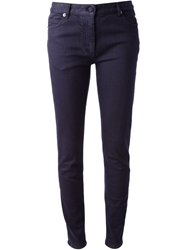 Maison Martin Margiela Skinny Jean Pink And Purple