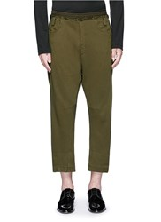 Haider Ackermann 'Perth' Relaxed Fit Jogging Pants Green
