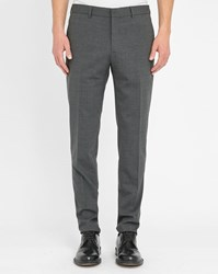 Knowledge Cotton Apparel Grey Classic Trousers