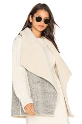 Soft Joie Breese Vest With Faux Sherpa Lining Gray