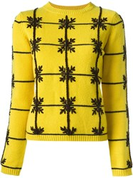 P.A.R.O.S.H. 'Laneiged' Jumper Yellow And Orange