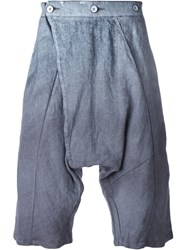 Lost And Found Drop Crotch Shorts Grey