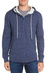 Grayers Men's Double Cloth Hoodie Denim