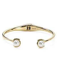 Kate Spade New York Dainty Sparklers Faux Pearl Cuff Cream