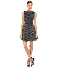 M Missoni Spacedye Short Sleeve Dress Black