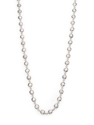 Ippolita Glamazon Sterling Silver Flat Hammered Beaded Necklace