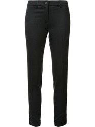 Fabiana Filippi Skinny Cropped Trousers Grey