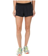 New Balance Mixed Media Shorts Black Women's Shorts