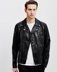 Cheap Monday Triple A Leather Jacket Black