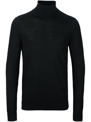 Michael Kors Roll Neck Jumper Black