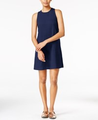 Maison Jules Shift Dress Only At Macy's Navy Stone