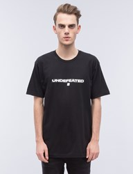 Undefeated Black Box T Shirt