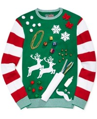 Retrofit Men's Diy Ugly Holiday Sweater Kit Emerald