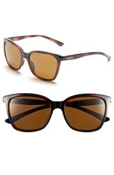 Women's Smith Optics 'Colette' 55Mm Polarized Sunglasses Tortoise Polar Brown