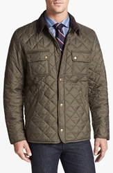 Barbour 'Tinford' Regular Fit Quilted Jacket Olive