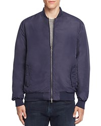 Sovereign Code Walden Reversible Bomber Jacket Navy
