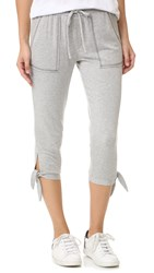 Splendid Cozy French Terry Pants Heather Grey