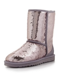 Sparkles Sequin Short Boot Heathered Lilac Ugg Australia
