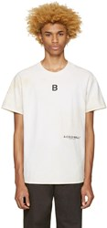 A Cold Wall Beige Signature T Shirt