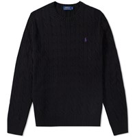Polo Ralph Lauren Cable Crew Knit Black