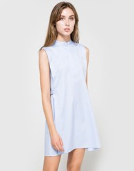 Alexander Wang Cotton Shirt Dress Chambray