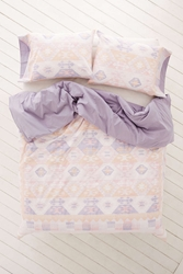 Plum And Bow Summer Kilim Duvet Cover Pink