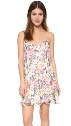 Elizabeth And James Floral Idris Dress Multi