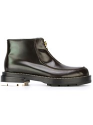 Marni Zipped Up Boots Black