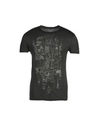 Generation Pacifique Short Sleeve T Shirts Steel Grey