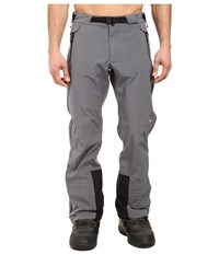Obermeyer Peak Shell Pants Graphite Men's Casual Pants Gray