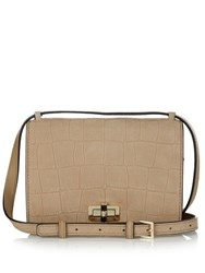 Diane Von Furstenberg 440 Gallery Les Cross Body Bag Nude