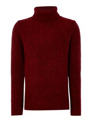 Calvin Klein Salus Turtle Knit Red