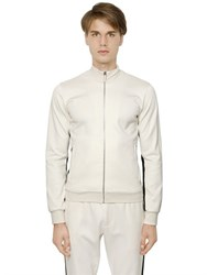 Dolce And Gabbana Zip Up Double Cotton Sweatshirt