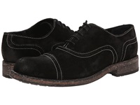Messico Guatavo Black Vintage Suede Men's Dress Flat Shoes