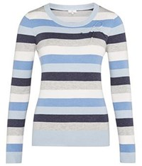Cc Bow Detail Striped Jumper Multi Coloured