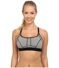 Lole Alpine Bra Black Stripe Women's Bra