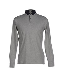 Geox Topwear Polo Shirts Men Grey