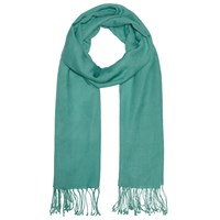 John Lewis Wool Mix Occasion Scarf Sea Green