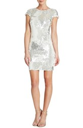 Women's Dress The Population 'Tabitha' Backless Sequin Minidress Nordstrom Exclusive