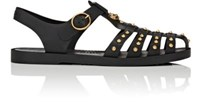 Gucci Men's Nero Fisherman Sandals Black