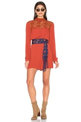 Somedays Lovin Sherry Romper Burnt Orange