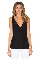 Amanda Uprichard Vita Tank Black