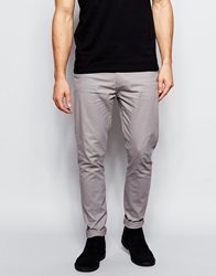New Look Skinny Fit Chinos Grey